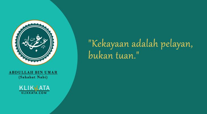 Kata Bijak Islami Sahabat Abdullah Bin Umar Bijak Sahabat