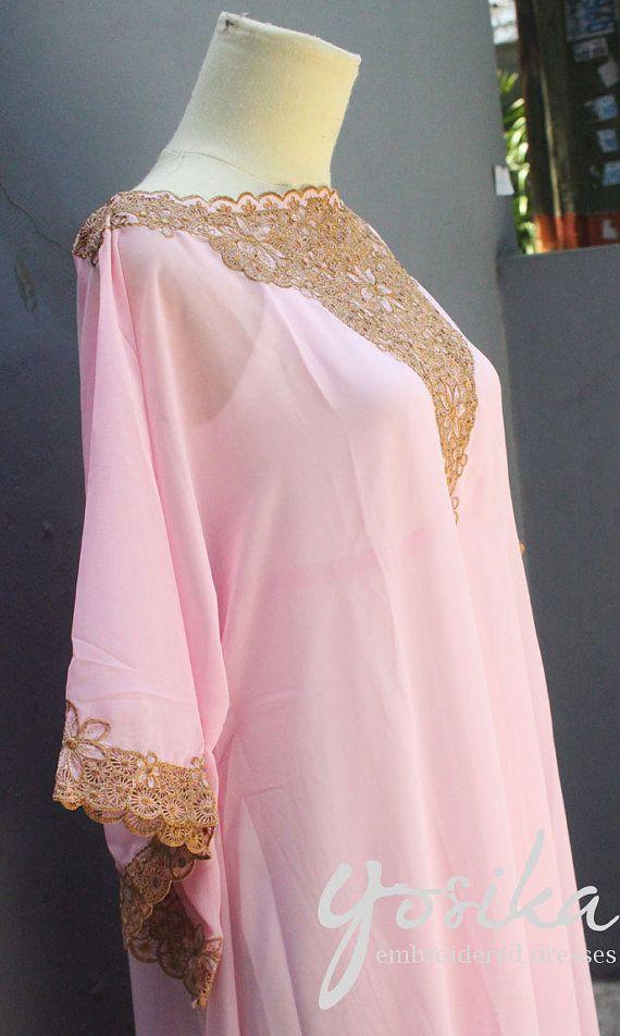 Pink Caftan Dress