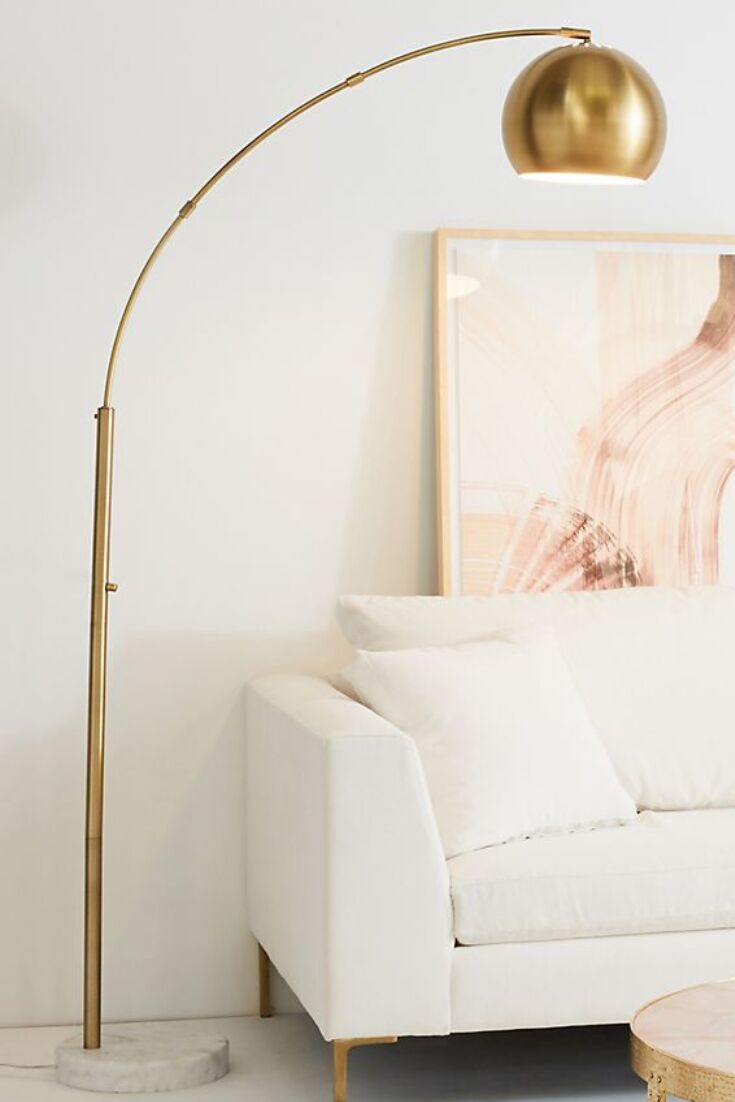 20 Target Floor Lamps That Are Chic Modern Statement Pieces I Am Co Floor Lamps Living Room Lamps Living Room Target Floor Lamps