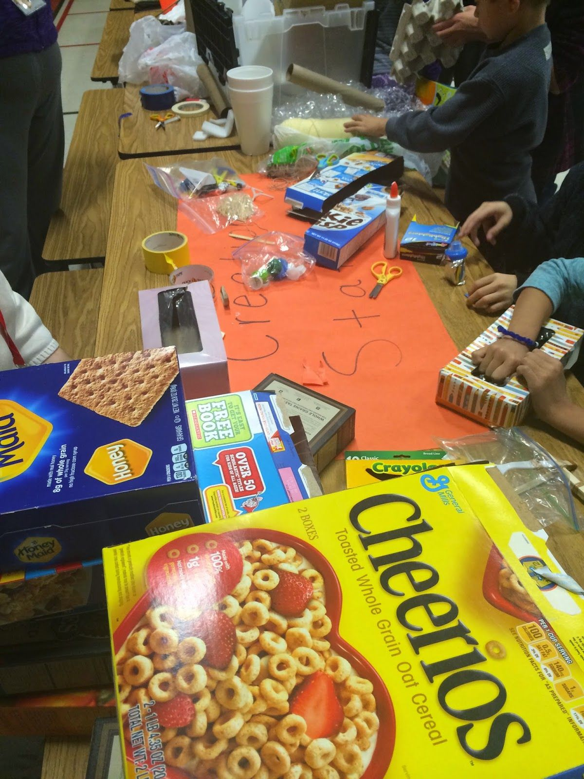 Classroom Quests Family Stem Night - Year 3