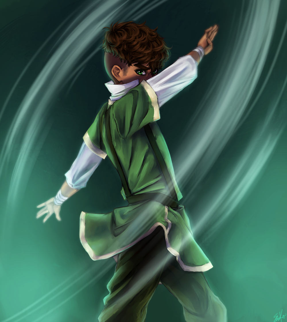 Kai | by PencilPaperPassion.deviantart.com on @deviantART | Child of My Heart | Legend of Korra | Avatar