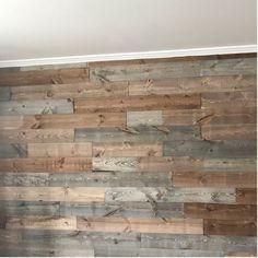 5 5 X 48 Solid Wood Wall Paneling In 2020 Wood Panel Walls Wood Plank Walls Pallet Wall Bedroom