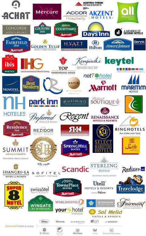 Hotel Logos 3 Logotipo De Hotel Hoteles Cadenas