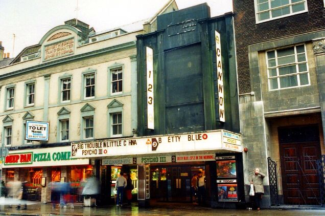 sports shoes 2d5b4 a4bb9 Cannon Cinema Charing Cross Road - London (Mid 1980 s)