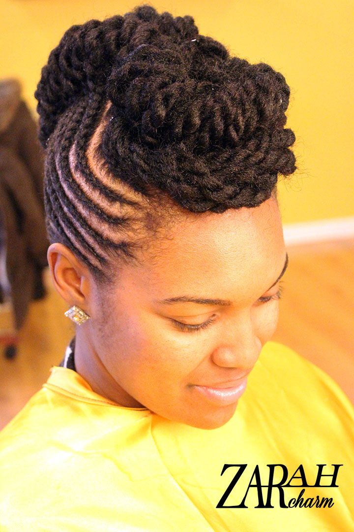Natural Hair Pinup By Zarah Charm Cornrows Natural Hair Natural Hair Updo Natural Hair Styles