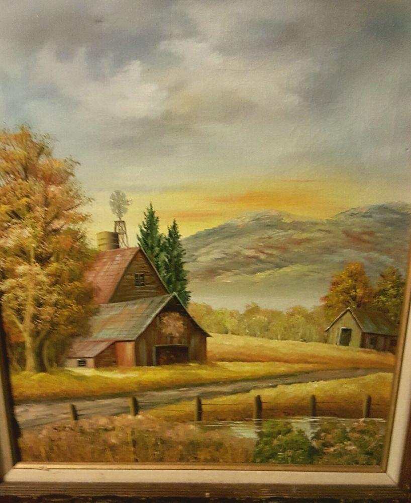 VTG Al Koenig Painting, Signed, Art, 20\