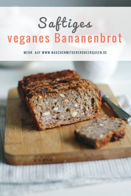 Veganes Bananenbrot Rezept Mit Datteln Und Mandeln Bananen Brot Bananenbrot Rezept Bananenbrot