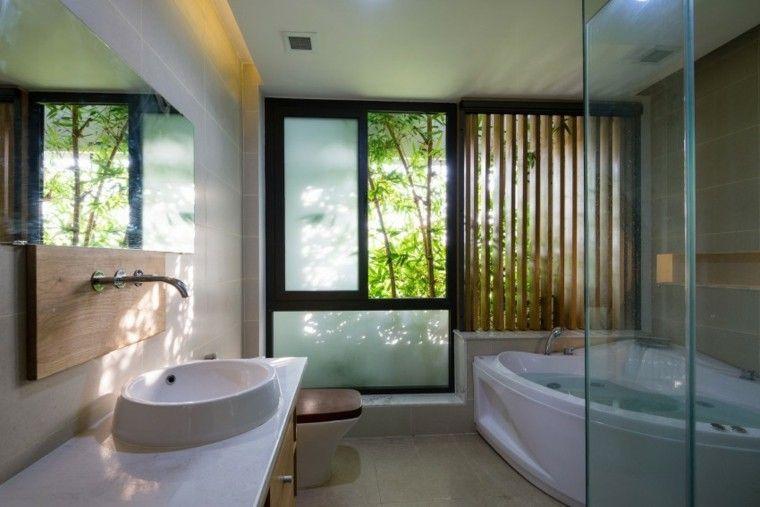Baños minimalistas modernos 100 ideas impresionantes | Baño ...