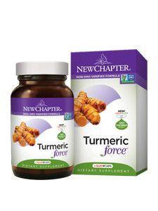 New Chapter- Turmeric Force 120 liquid vegcaps