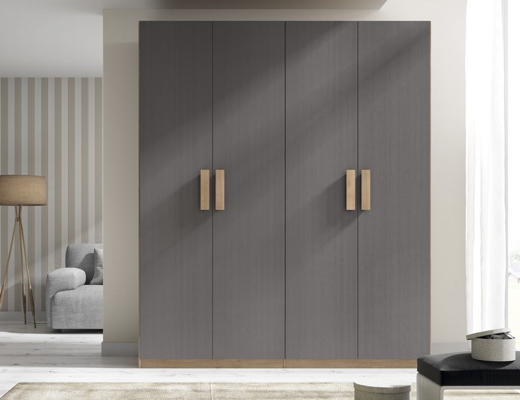 Armario con puertas abatibles (168 – A3) - Muebles CASANOVA ...
