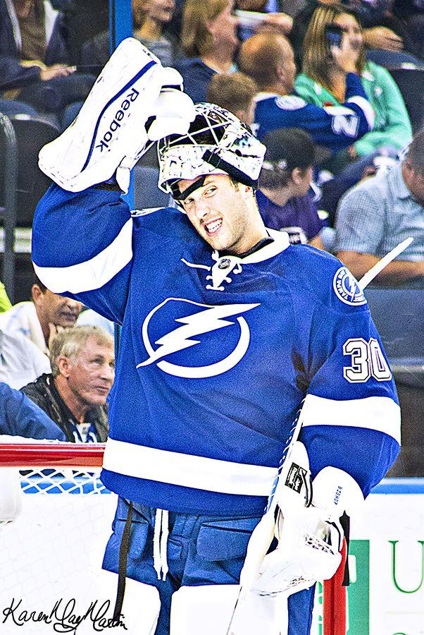 Ben Bishop Tampa Bay Lightning Lightning Hockey Tampa Bay Lightning Hockey Goalie