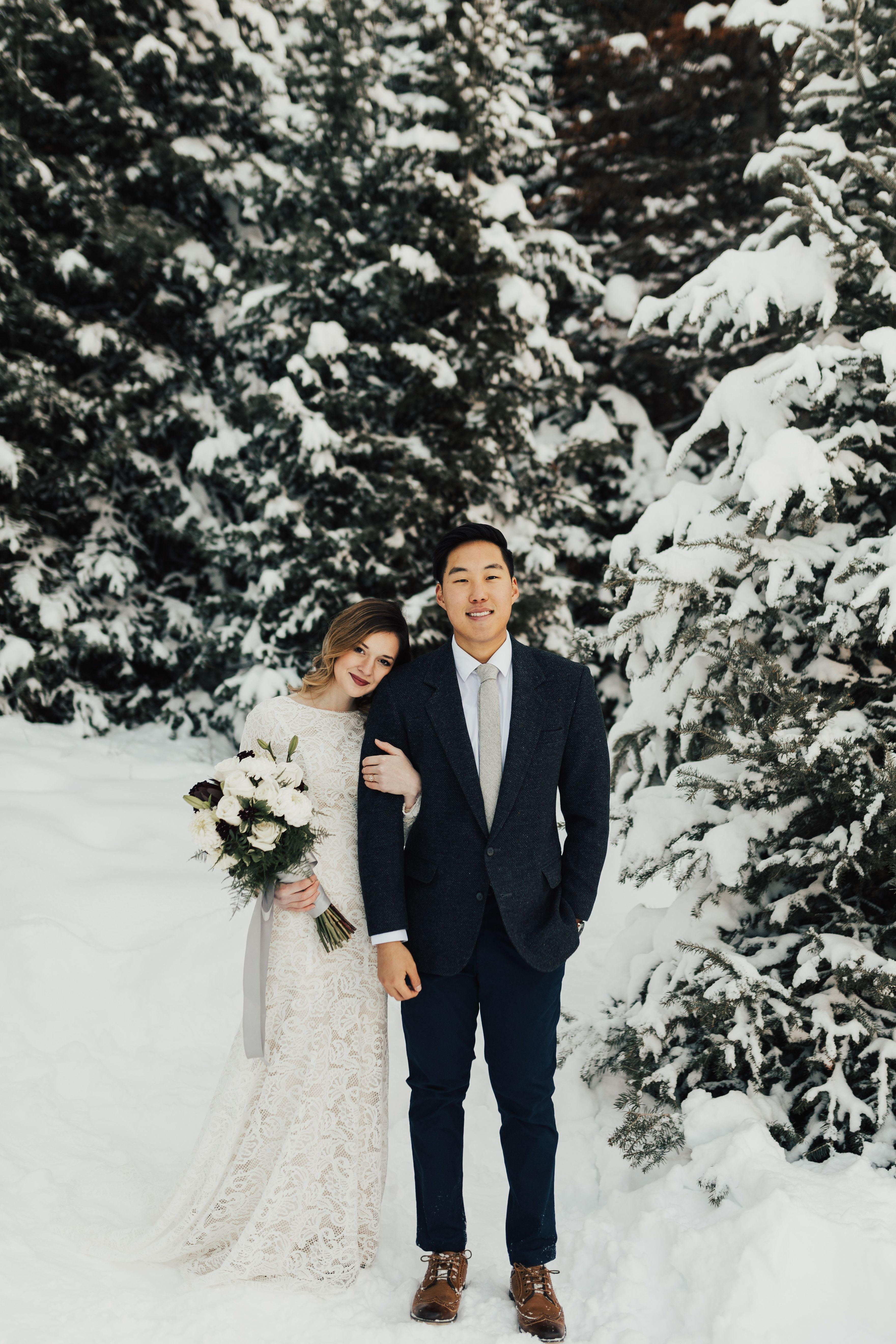 Snowy bridals pinterest modest wedding bridal photography and