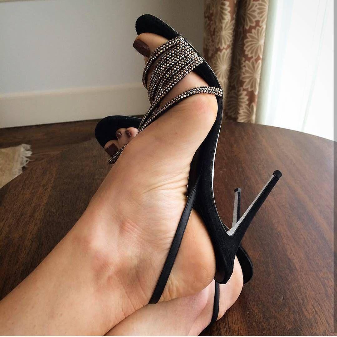 Black Panties High Heels