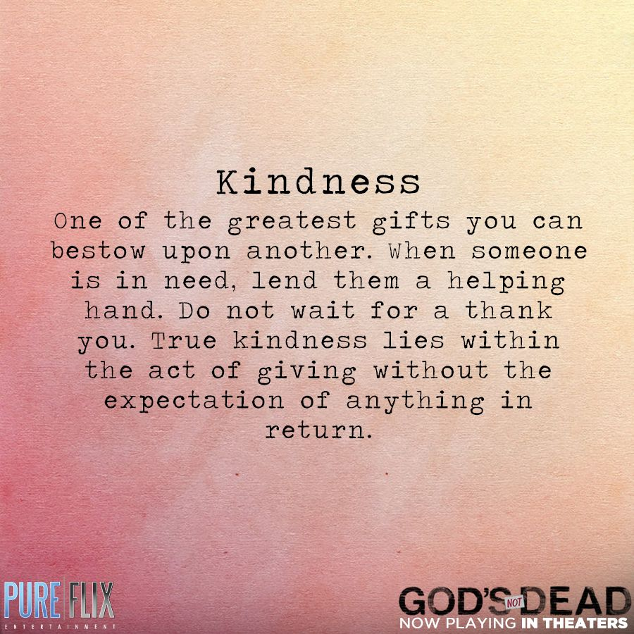 encouragement kindness pure flix christian movies