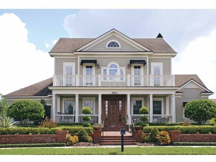 Colonial Style House Plan 6 Beds 5 Baths 5164 Sq Ft Plan 1019 4 Colonial House Plans Colonial Style Homes House Styles