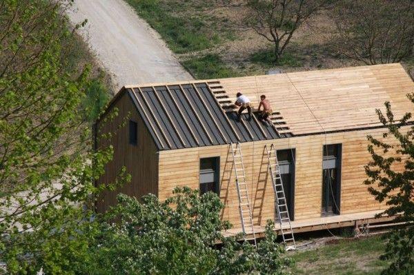 bardage toiture bois recherche google house maison. Black Bedroom Furniture Sets. Home Design Ideas