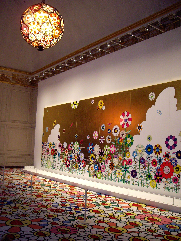 Takashi murakami versailles exhibit takashi murakami for Japanische wohnungseinrichtung