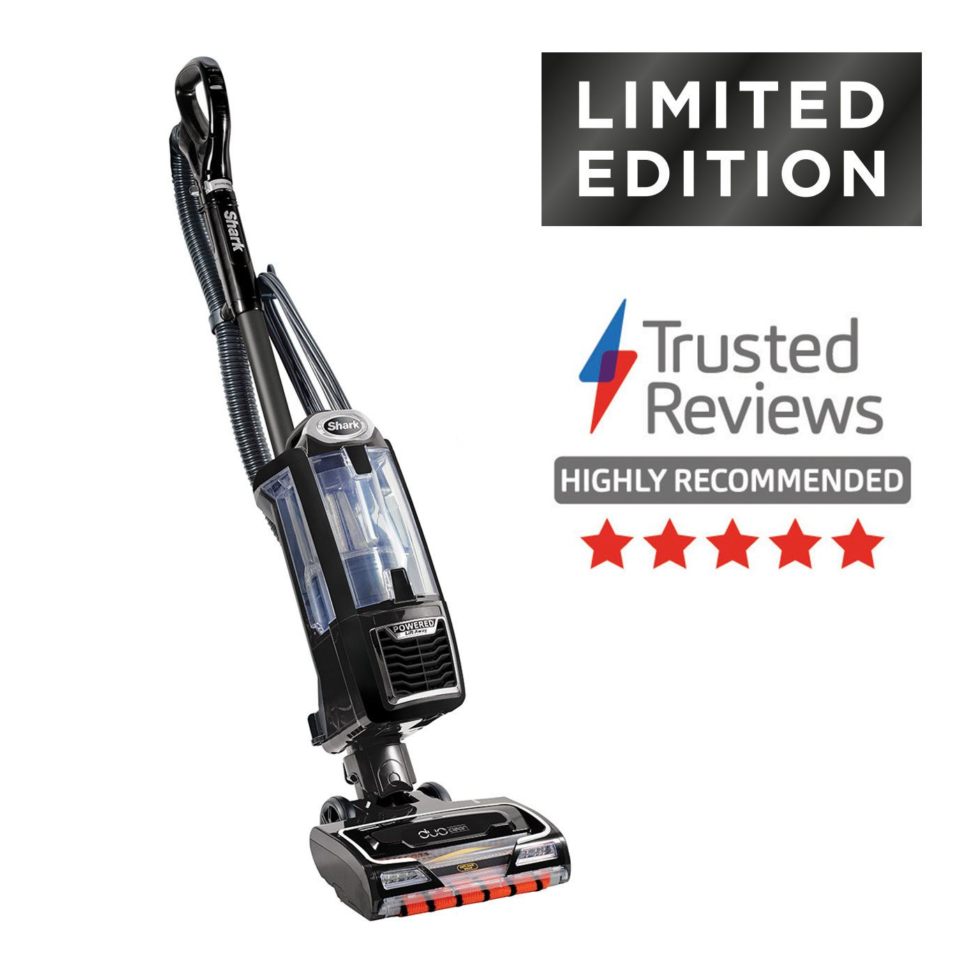 Shark DuoClean Upright Vacuum Cleaner, Deluxe Edition with