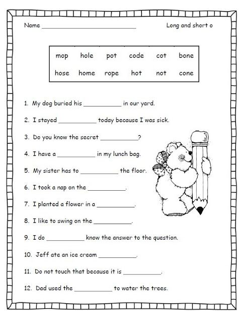 SHORT VOWEL LESSON PLANS FOR SECOND GRADE - Auto Electrical ... on