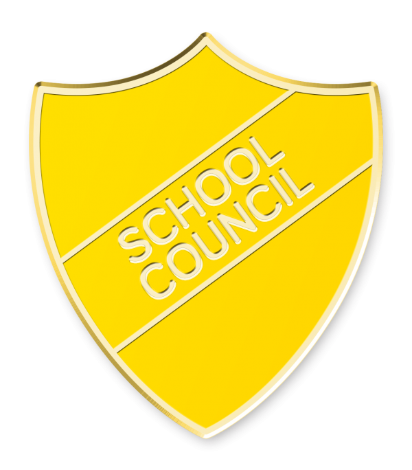 Prefect Enamel School Bar Badge Pink