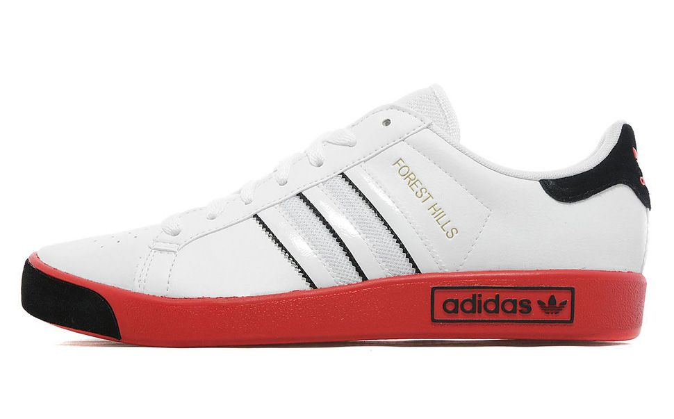 "online store 17fbe fb5eb adidas Forest Hills ""White, Black   Collegiate Red"""
