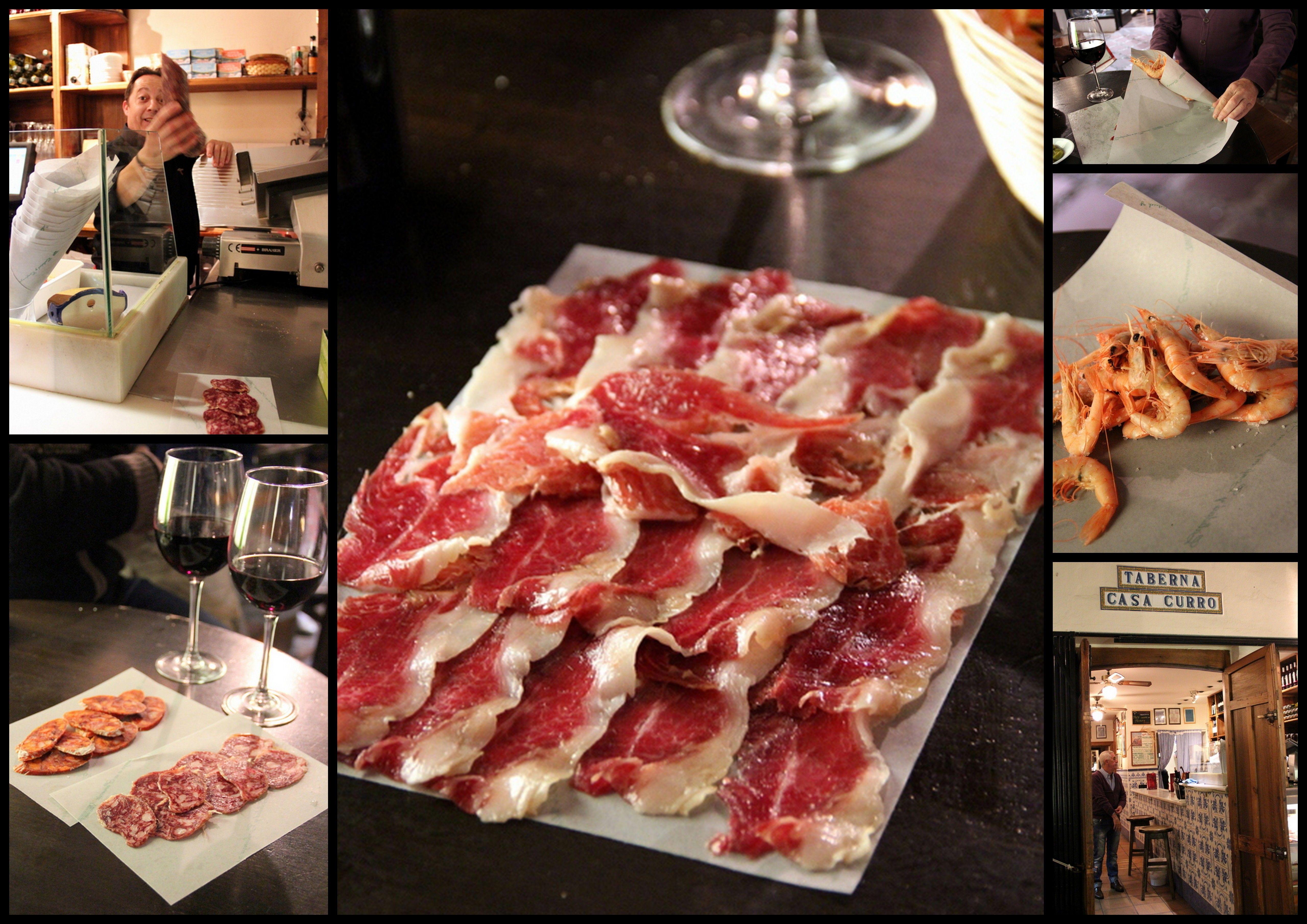 Taberna Casa Curro Marbella Spain Food Bacon Marbella