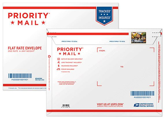 Glade Creek Grist Mill Priority Mail Stamped Envelope 5 75