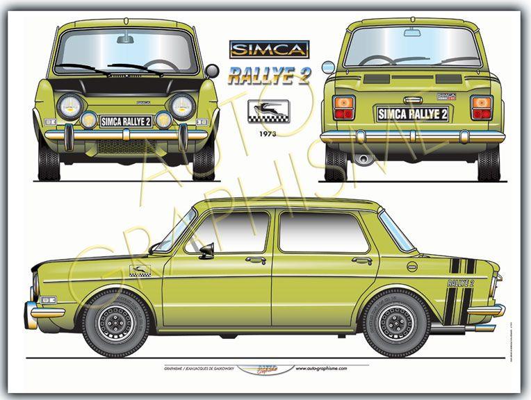 Automobiles Gerhal272 Simca Rallye 2 1973 Simca Coloriage Voiture De Course Simca Rallye 2