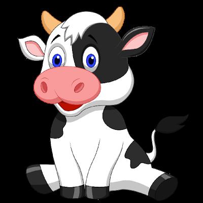 cartoon cow drawing | cute cartoon cows cute cartoon ...