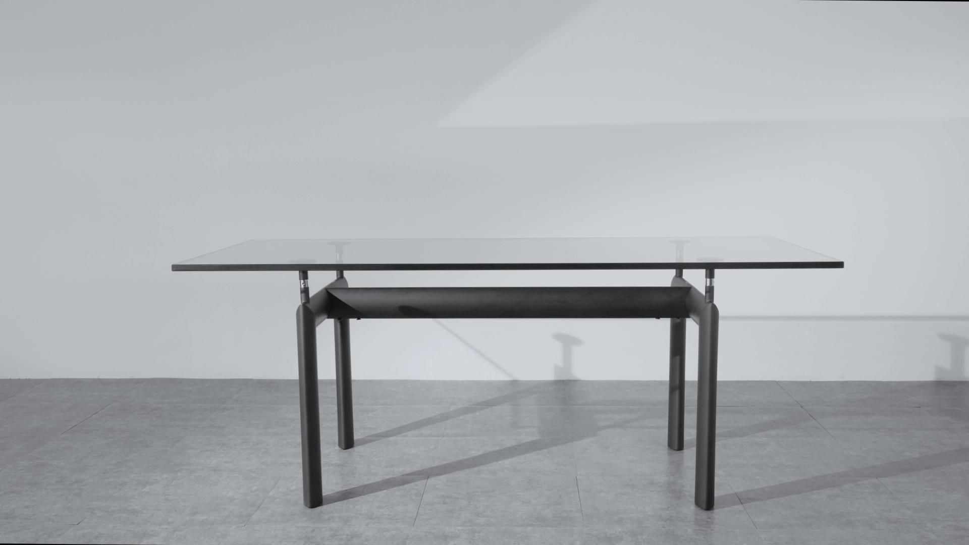 Le Corbusier LC6 Dining Table   Mid Century Modern