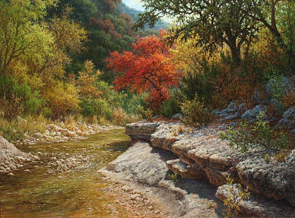 Autumn Landscape Oil Paintings William Hagerman Http Www Google Cat Blank Html Oil Painting Landscape Oil Painting Texture Landscape Paintings