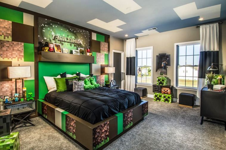 Minecraft Bedroom Ideas 2017 Minecraft Bedroom Decor Minecraft