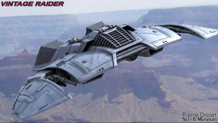Cylon Raider Battlestar Galactica 1978 79 With Images Sci