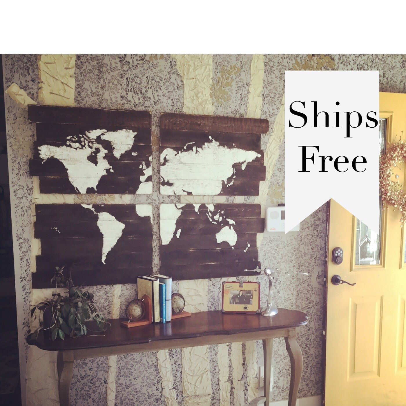 A personal favorite from my etsy shop httpsetsylisting world map wood map large wooden map large world by girlinair gumiabroncs Image collections