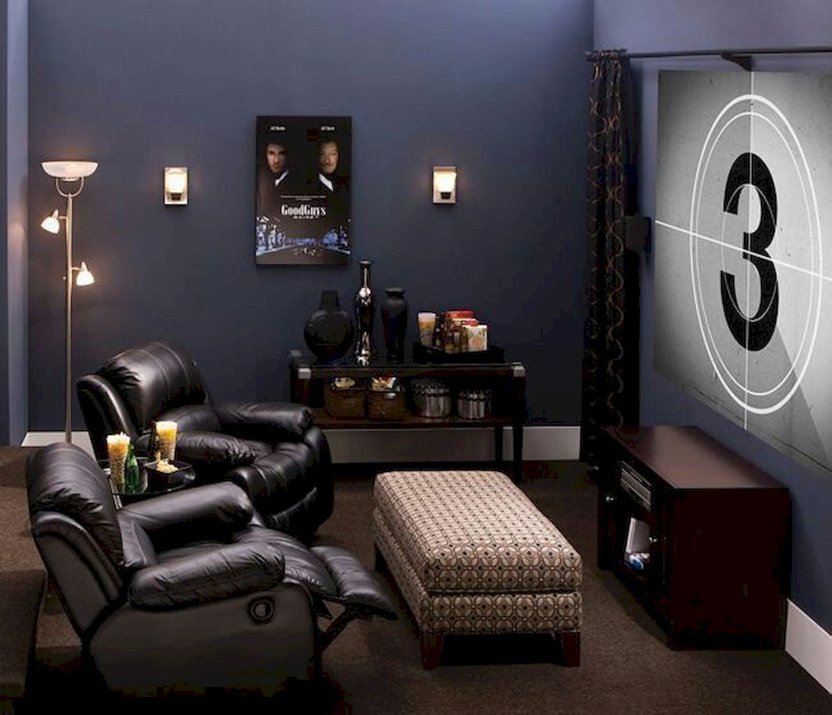 The Most Effective Method To Choose Decor Home Cinema Home To Z Man Cave Living Room Man Cave Room Small Room Design