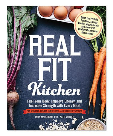 This Real Fit Kitchen Paperback Is Perfect Zulilyfinds With