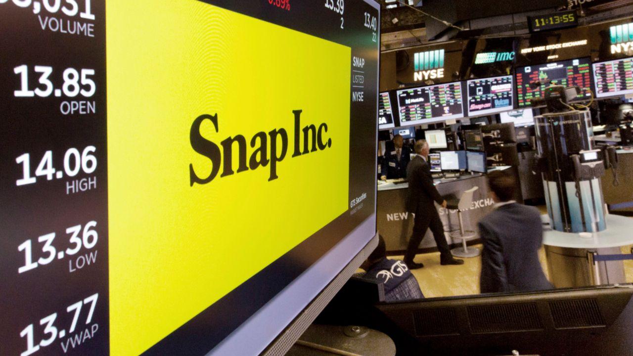 Miese Quartalszahlen Snapchat Firma Sturzt An Der Borse Ab