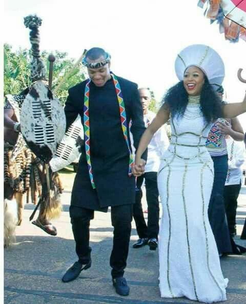 Minnie Dlamini Zulu Wedding