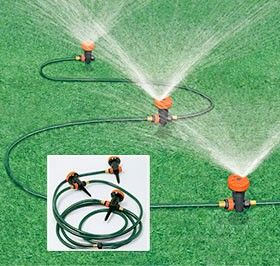 Sprinkler system e6974 the portable sprinkler system is a watering wonder this portable and for Portable watering tanks for gardens