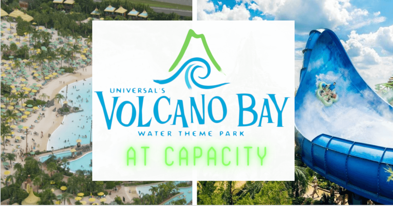 Universal S Volcano Bay Reaches Capacity No Masks Required Inside The Magic In 2020 Volcano Bay Water Theme Park Orlando Theme Parks