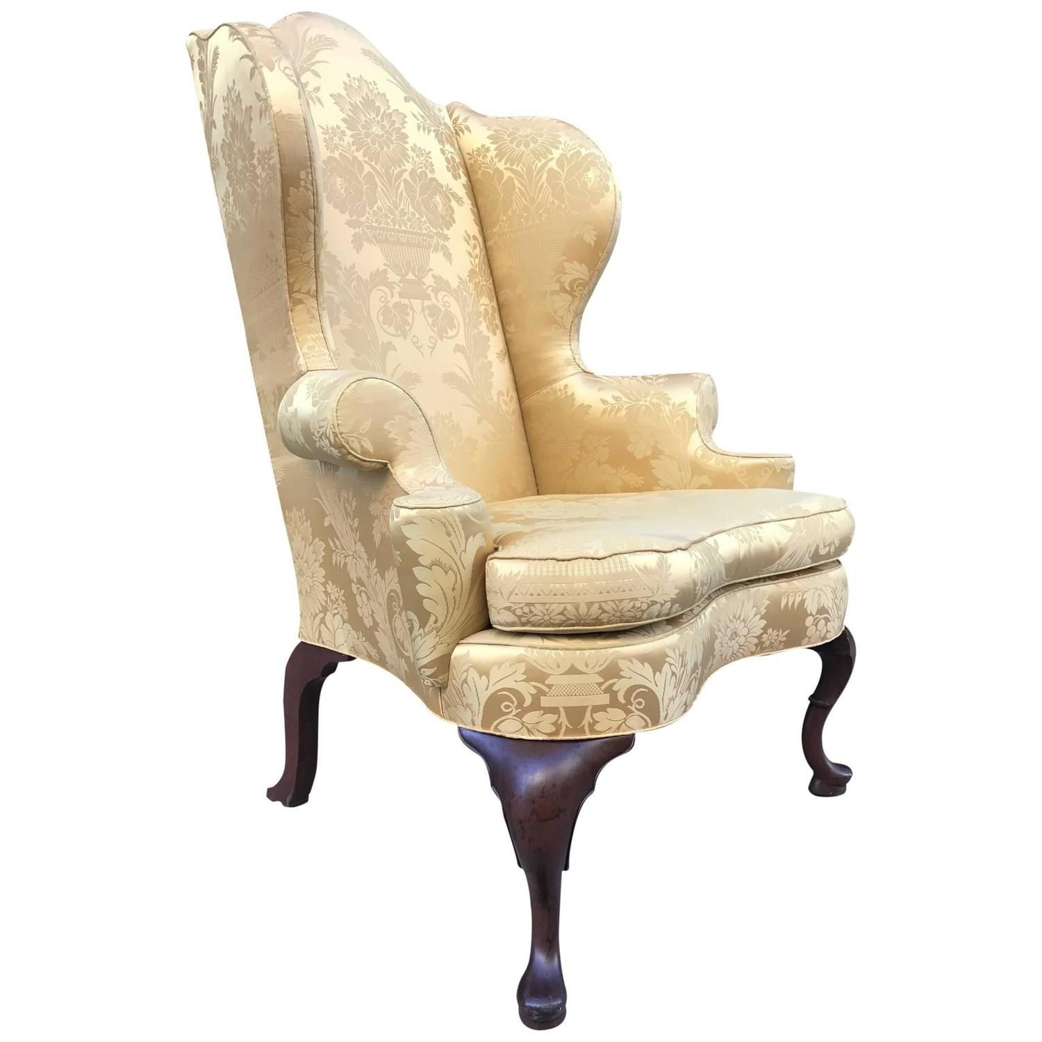 Kittinger Continental Williamsburg Wingback Chair From A Unique Collection Of Antique And Modern Wingback Chairs Vintage Wingback Chair Wingback Chair Chair