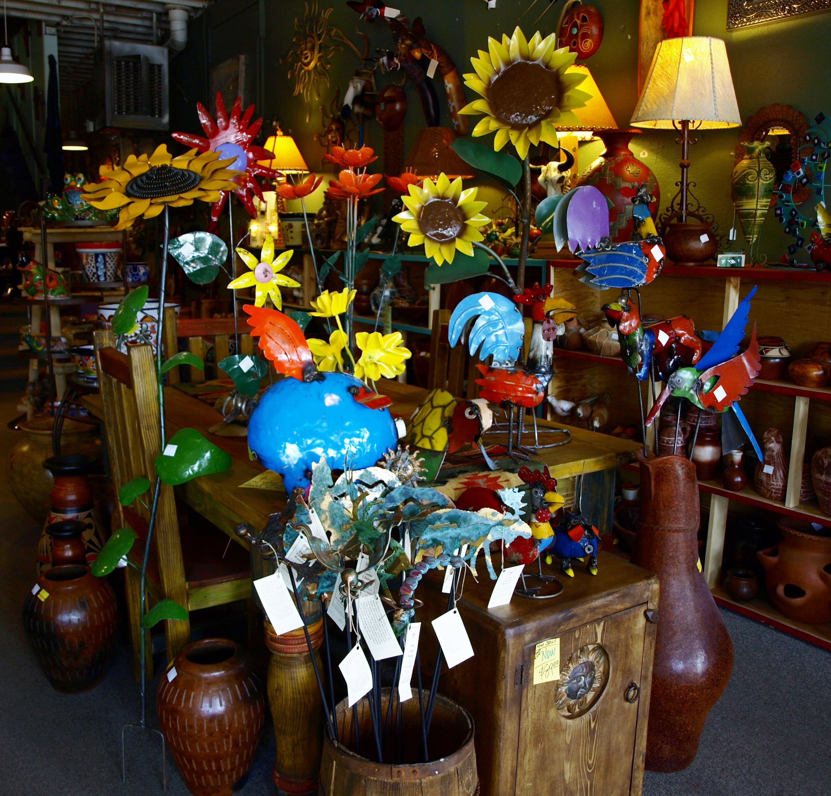Roses In Garden: Dress Up The Garden With These Cool Yard Items. Pueblo