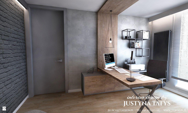 Industrialne Klimaty Zdjęcie Od Jt Design Justyna Tatys Biuro