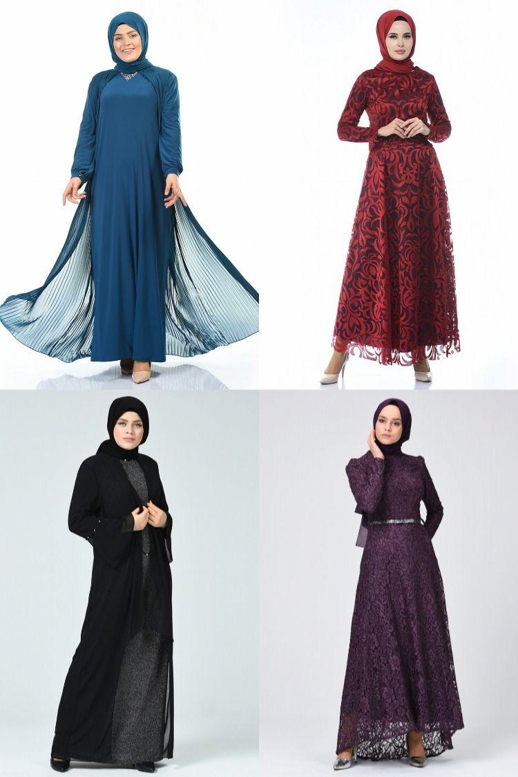 2020 Kis Sefamerve Tesettur Abiye Modelleri 1 2 Evening Dress 2020 Abendkleid 2020 2020 Giyim Elbise Modelleri Elbise