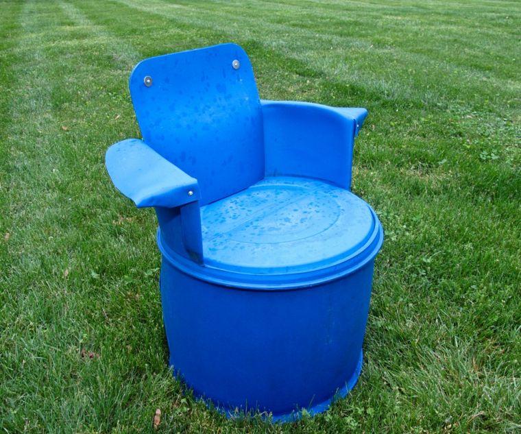 Bidon Recup Fauteuil Jardin Pas Cher Mobilier Barrel Projects Barrels Diy Barrel Chair