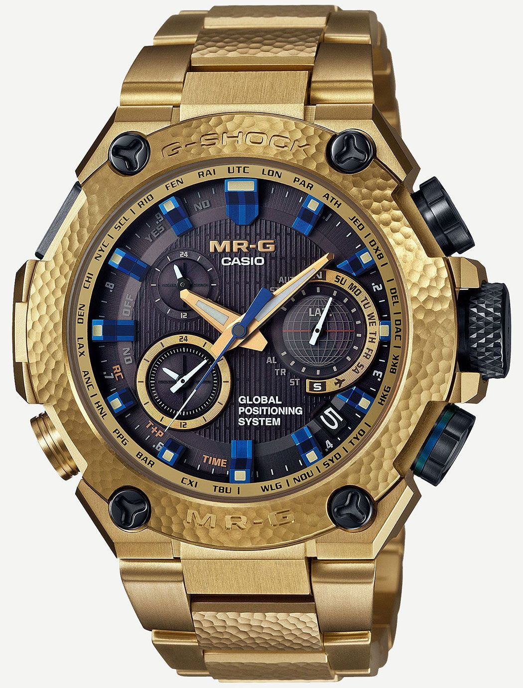 806f12c75db Casio G-Shock Gold Hammer Tone MRGG1000HG-9A Watch – by David Bredan – One  of the most outrageous