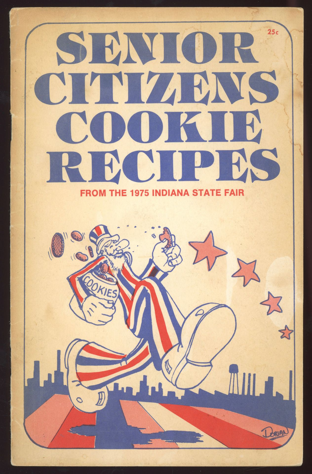 senior citizens cookie recipes from the 1975 indiana state