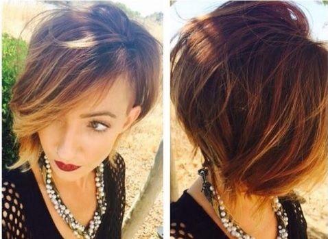 Coupes Cheveux courts et Mi,longs tendance 2016 , 30 Modèles  Impressionnants!