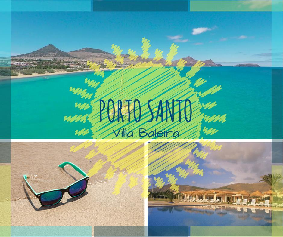 vacances au portugal La petite île volcanique de Porto Santo au large du portugal, avec ses  grandes plages