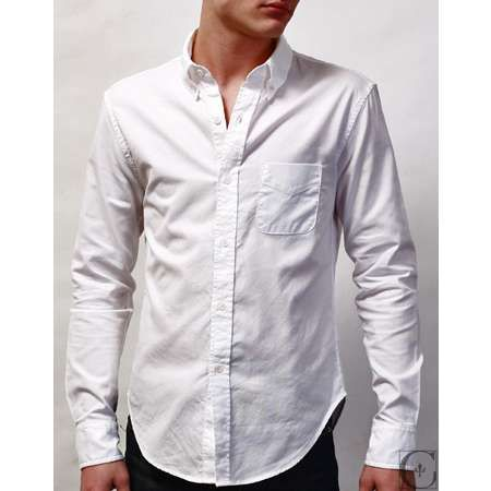White Button Up Mens Shirt | Is Shirt